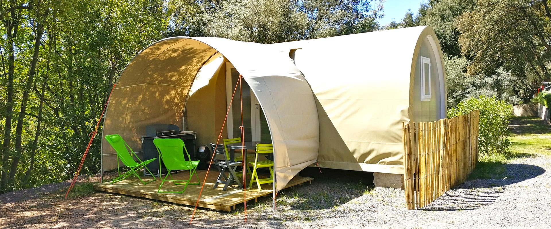 Le coco sweet 4 personnes - Camping les Philippons