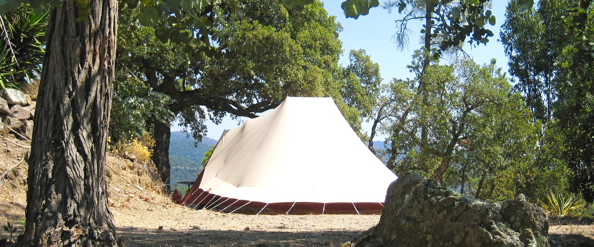 Tent pitch - Camping les Philippons