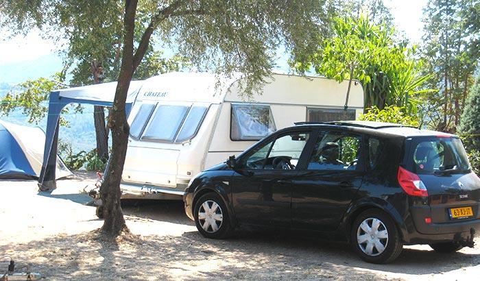 Emplacement pour caravane